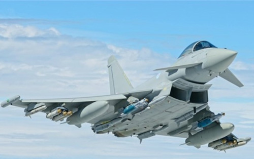 First Firing of MBDA's Brimstone from Eurofighter Typhoon
