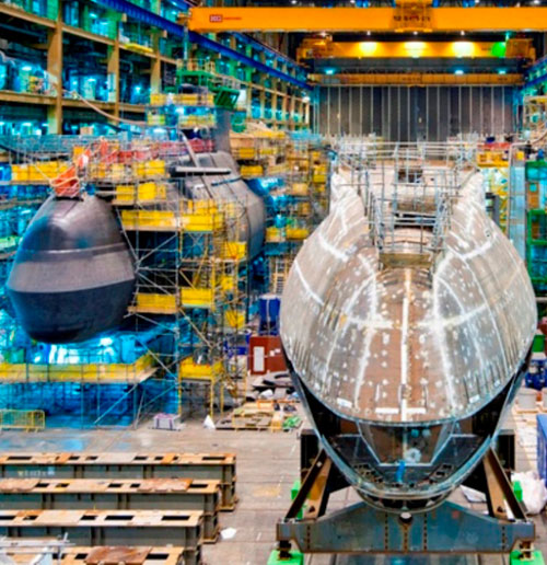 BAE to Build UK's 6th Nuclear-Powered Attack Submarine