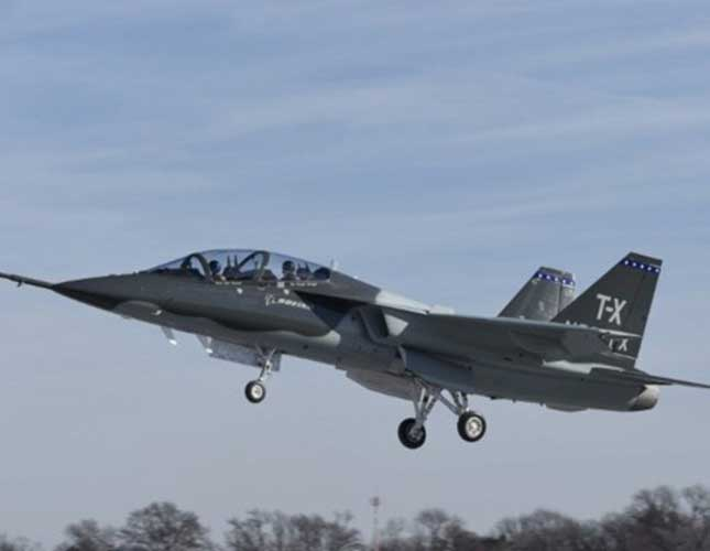 Boeing, Saab Complete First Flight of T-X Aircraft