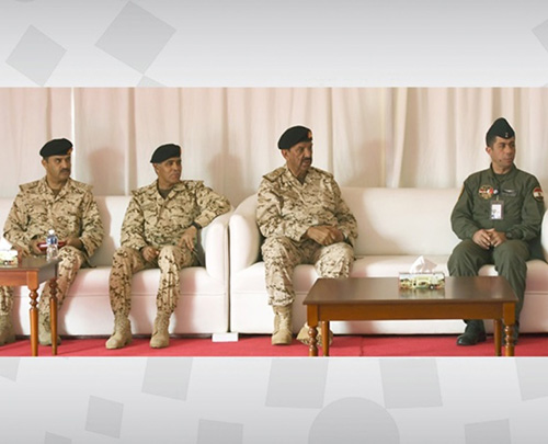 """Bahrain's Commander-in-Chief Attends """"Hamad-3' Drill"""