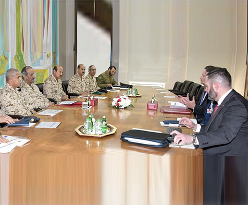 Bahrain Defense Force (BDF) Commander-in-Chief Field Marshal Sheikh Khalifa bin Ahmed Al Khalifa, received Thomas Laliberty (photo), Vice President of Integrated Air and Missile Defense (IDS), Raytheon Company.