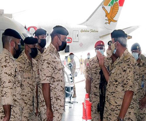 Bahrain's Commander-in-Chief Visits Royal Bahrain Air Force