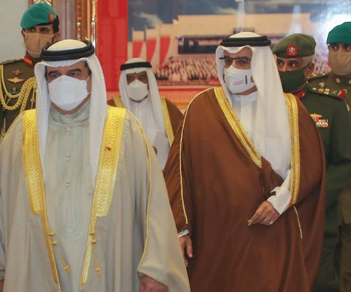 Bahrain's King Chairs Supreme Defense Council Meeting
