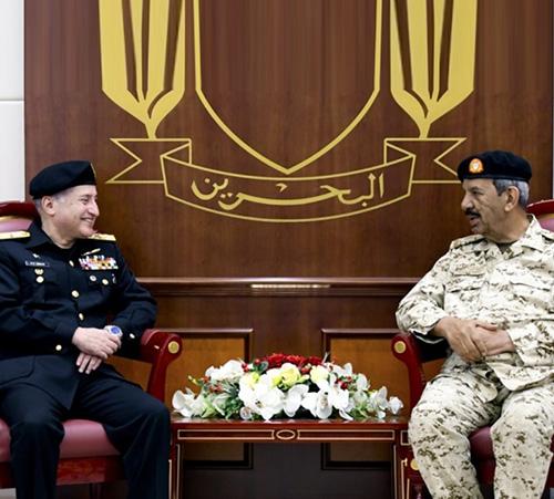 Bahrain Defense Chief Receives Pakistan Navy Chief-of-Staff