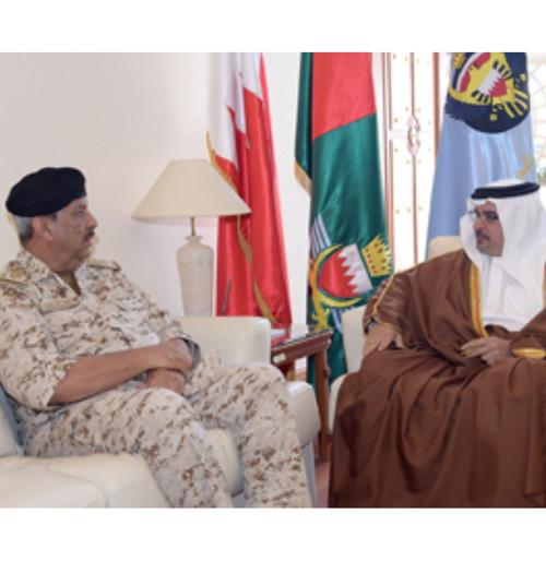 Bahrain Deputy King Visits General Command of Defense Force