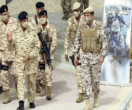 Bahrain Launches 'Dawn of Storms 25' and 'Fort of the Nation' Drills