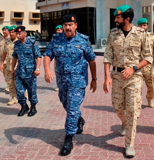 Bahrain Royal Guard Chief Visits Naval Force Headquarters