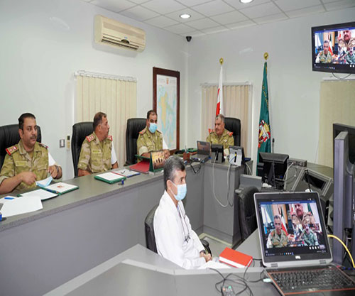 Bahraini, Kuwaiti National Guards Conduct Virtual Joint Exercise