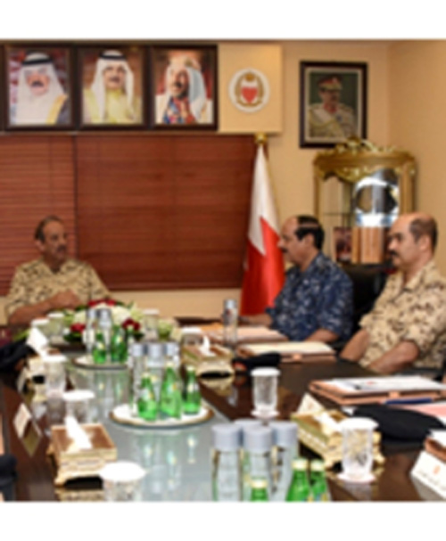 Bahrain's Commander-in-Chief Visits Defense College