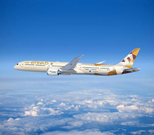 Boeing, Etihad to Test Innovations on ecoDemonstrator 787