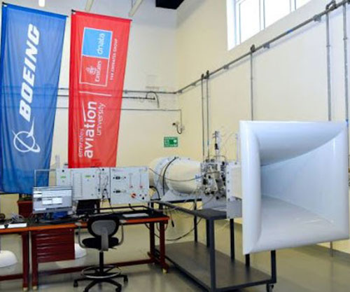 Boeing Middle East Grants Wind Tunnel to Emirates Aviation University