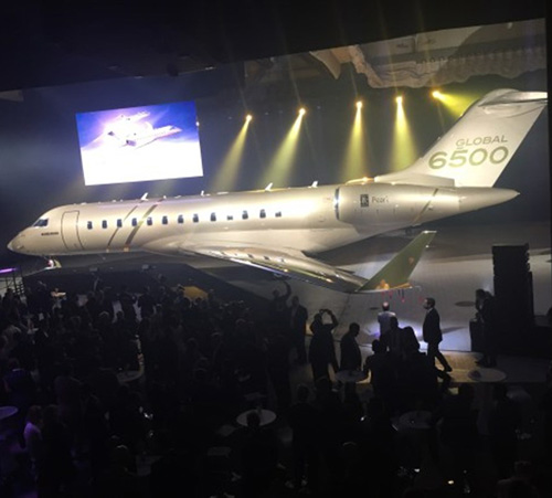 Bombardier Launches Global 5500 and Global 6500 Aircraft