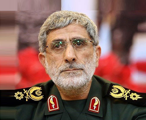 Brigadier General Esmayeel Qaani Succeeds Lt. General Qassem Soleimani
