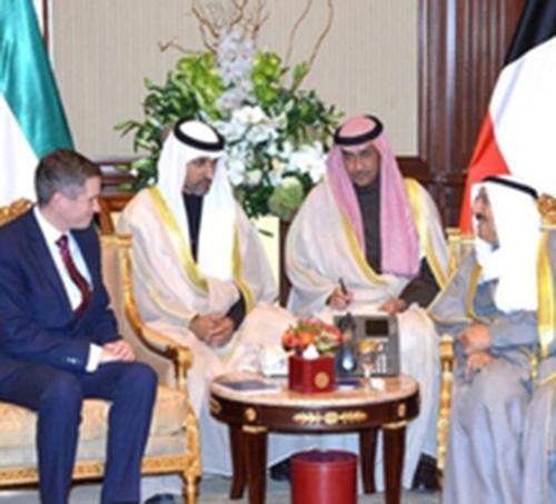 British Defense Secretary Visits Kuwait