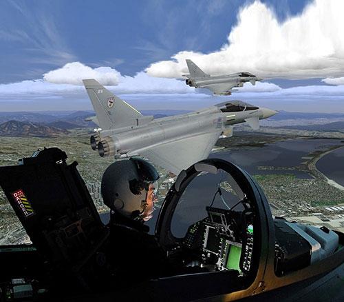 CAE to Provide 4 Medallion MR e-Series for Qatar Typhoon Simulators
