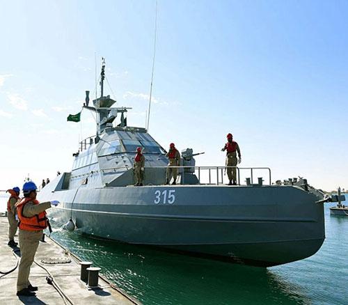 CMN Delivers New Batch of Speed Interceptor Boats to Saudi Navy