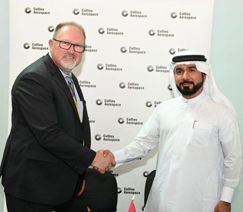 Collins Aerospace Signs Agreements with Bayanat, Etihad Airways