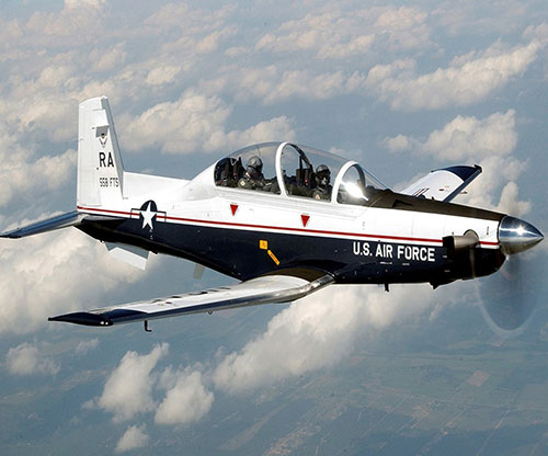 Curtiss-Wright Corporation announced that it was selected by Scientific Research Corporation (SRC) to provide its industry-leading Fortress flight recorder system to upgrade the T-6 Texan II trainer aircraft used by the U.S. Air Force and Navy.