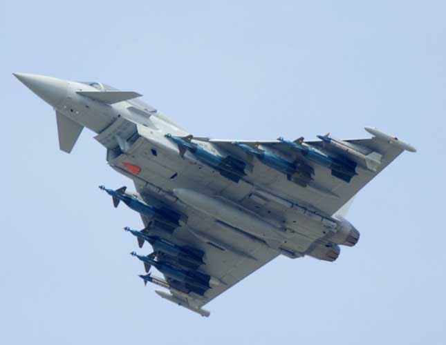 LM to Integrate Sniper ATD onto Eurofighter Typhoon