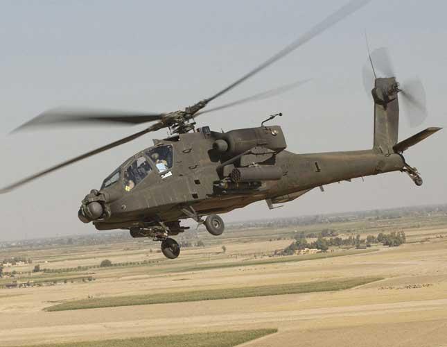 Lockheed Martin to Upgrade Apache Helicopters' Sensor