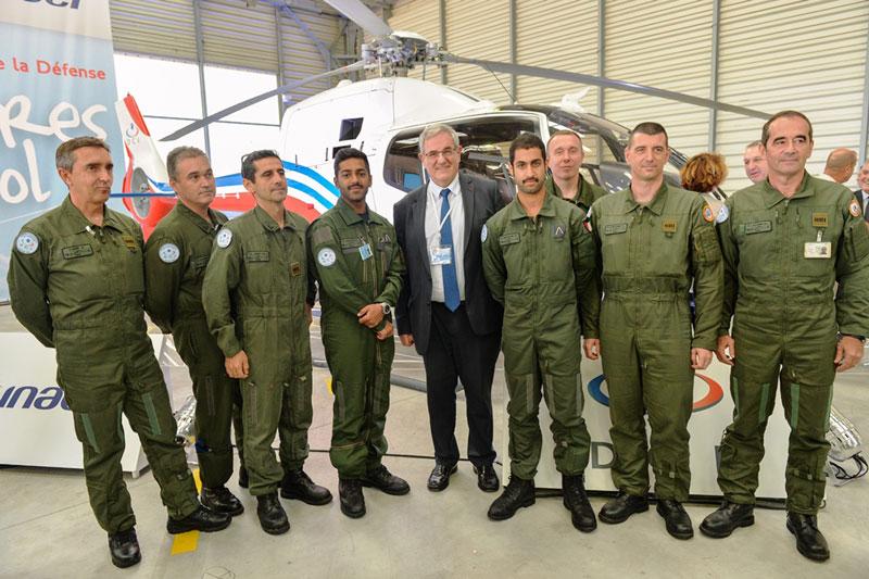 DCI Starts Training 15 Kuwaiti Military Pilots