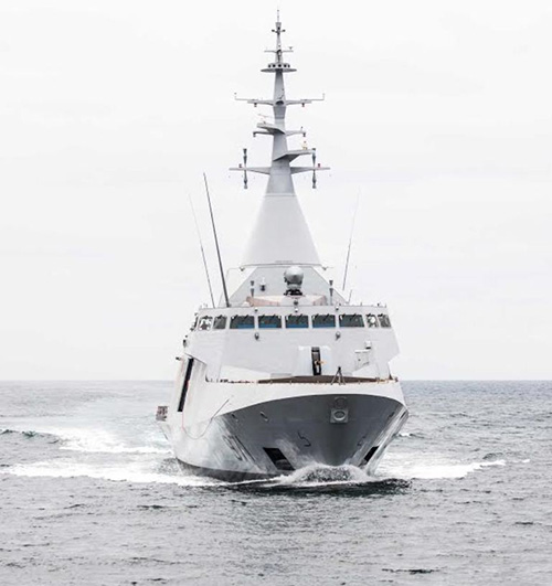 First Gowind® 2500 by DCNS Succeeds in Sea Trials