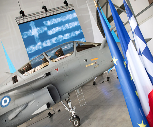 Dassault Aviation Delivers First Rafale to Greece