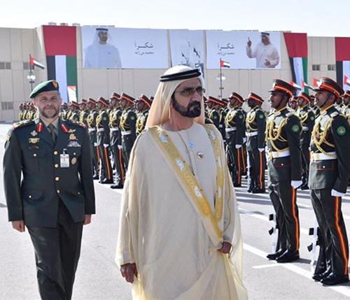 Dubai Ruler Attends Zayed Military College Graduation