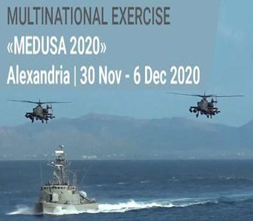 Egypt, UAE, France, Greece, Cyprus Start MEDUSA 2020 Exercise