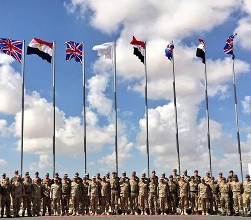 Egypt, UK Start Joint AHMOSE Military Exercise