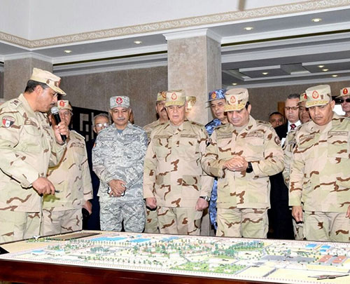 Egyptian Armed Forces Sign Protocols for Housing, Investment Projects