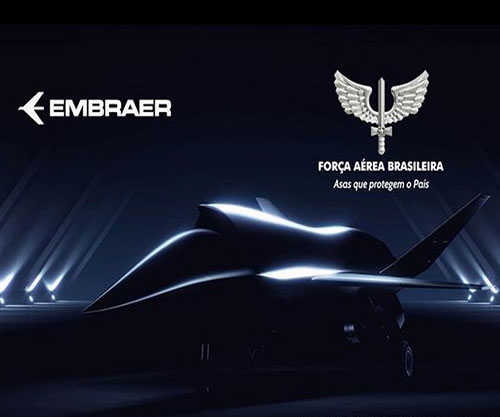 Embraer, Brazilian Air Force Sign MoU for Joint Study of Unmanned Aircraft System