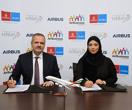 Emirates Group, Airbus to Provide Leadership Programs for UAE Nationals