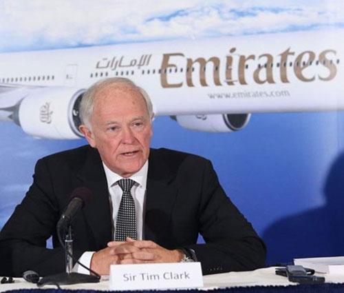 Emirates President Tim Clark to Retire in June 2020