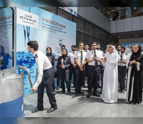 Etihad Aviation Group to Fund Construction of 30 Water Wells in Africa