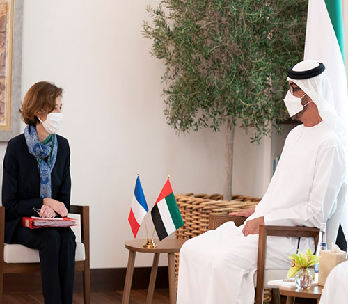 French Minister of Armed Forces Concludes Visit to UAE