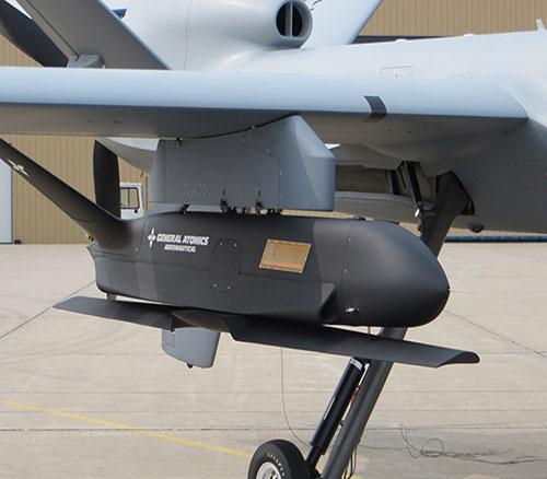 GA-ASI Conducts Sparrowhawk sUAS Flight Tests