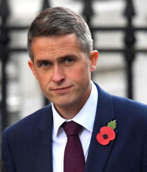 Gavin Williamson Named UK Defence Secretary