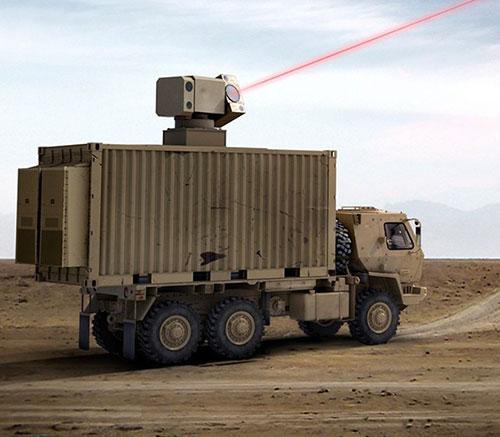 General Atomics, Boeing Partner on High Energy Laser Weapon System