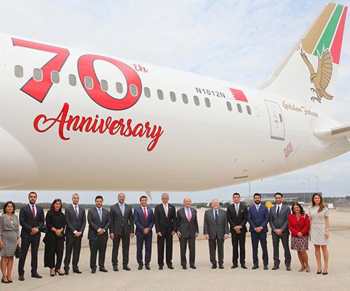 Gulf Air Receives its Seventh 787-9 Dreamliner