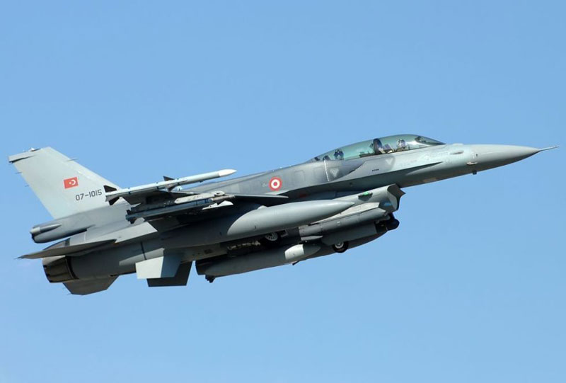 Harris Corporation to Upgrade Turkey's F-16s with Electronic Warfare