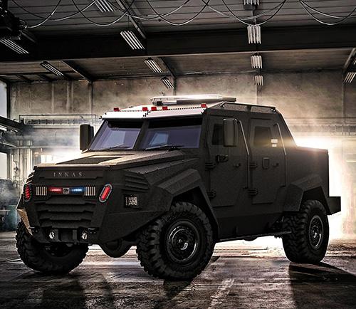 INKAS® Unveils New Sentry Multi-Purpose Vehicle (MPV)