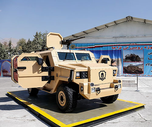 Iran Develops Lightest Tactical Military Vehicle in the Region