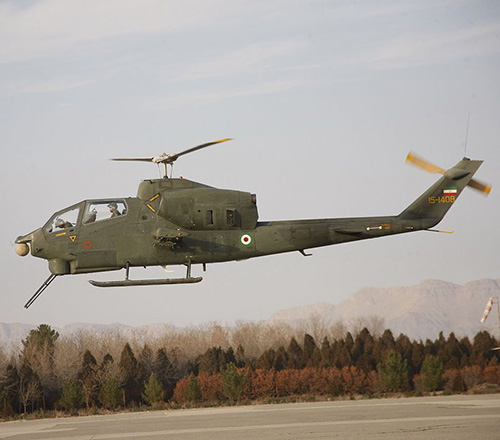 Iran Mounts Night-Vision Systems on Helicopters