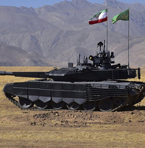 Iran Tests Active Protection System on Home-Made Tanks