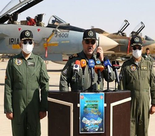 Iranian Army's Air Force Conducts Massive Wargames