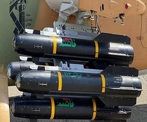 Iranian Ground Force Receives New Home-Made Anti-Armor Missile