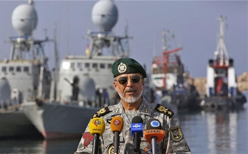 Iranian Naval Forces Begin Massive Wargames