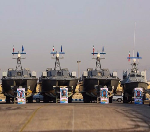 Iranian Navy Receives 112 Missile-Launching Speed Boats