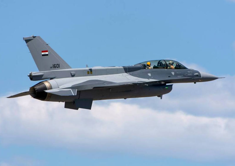 Iraq Orders F-16 Weapons, Munitions, Equipment, Logistics